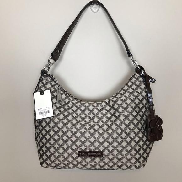 Dana Buchman Handbags - New Brown and Tan Shoulder and Crossbody Bag